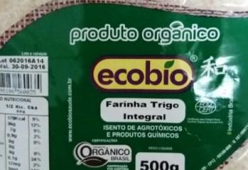 Farinha de Trigo Integral Orgânica Ecobio
