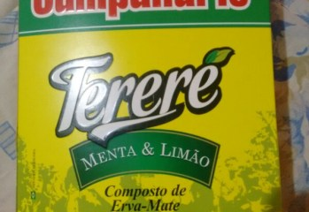 Composto de Erva Mate Tererê Menta e Limão Campanário