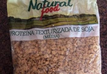 Proteína de Soja Texturizada Média Natural Food Siamar