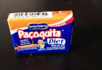 Paçoquita Diet Santa Helena