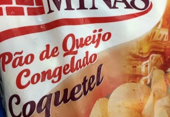 Pão de Queijo Coquetel Forno de Minas