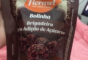 Bolinha Brigadeiro Zero Flormel