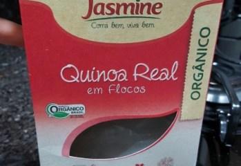 Qunioa Real em Flocos Orgânico Jasmine