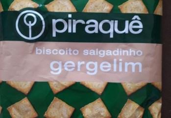 Biscoito Salgadinho Gergelim Piraquê