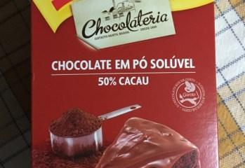 Chocolate em Pó Solúvel 50 Cacau Garoto