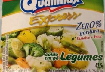 Caldo em Pó Legumes Zero Qualimax