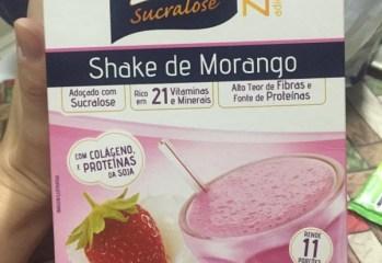 Shake de Morango Linea Sucralose