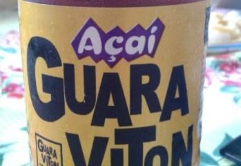 Bebida de Guarana com Aroma de Acai Adocada Guaraviton