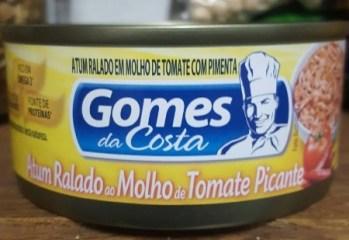 Atum Ralado ao Molho de Tomate Picante Gomes da Costa