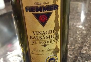Vinagre Balsâmico De Modena Hemmer