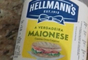 Maionese Hellmann's novo