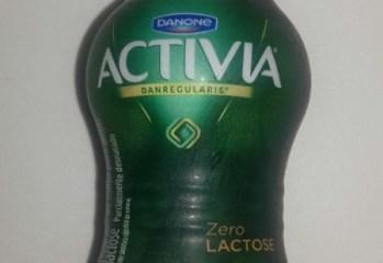 Leite Fermentado Activia Zero Lactose Morango e Banana Danone