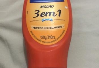 Molho 3 em 1 Hellmann's