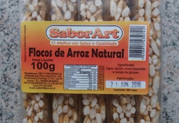 Flocos de Arroz Natural Sabor Art