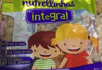 Bisnaguinha Integral Nutrellinhas Nutrella