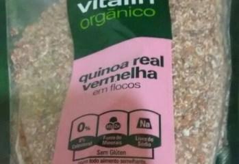 Quinoa Real Vermelha em Flocos Organico Vitalin