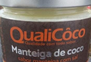 Manteiga de Coco Sabor Manteiga com Sal QualiCoco