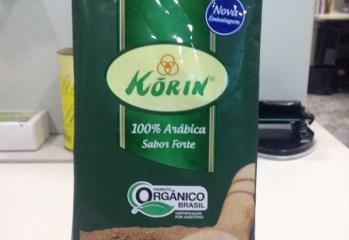 Cafe Torrado e Moido 100 Arabica Sabor Forte Organico Korin
