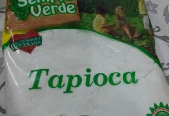 Goma de Mandioca Peneirada Tapioca Hortaliças Sempre Verde