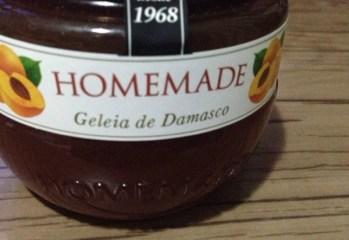 Geleia de Damasco Homemade
