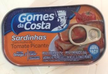 Sardinhas com Molho de Tomate Picante Gomes da Costa