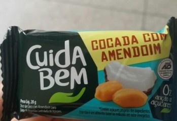 Cocada com Amendoim Cuidar Bem