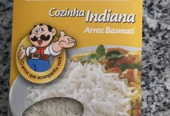 Arroz Basmati Cozinha Indiana Tio João