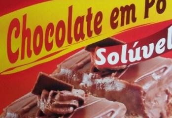 Chocolate em Po Soluvel Chinezinho
