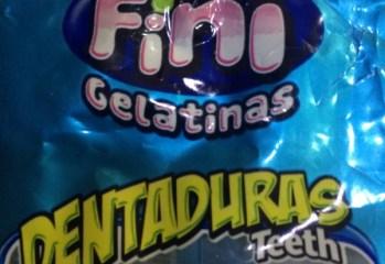 Balas de Gelatina Dentaduras Teeth Fini Gelatinas