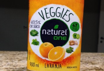 Bebida Mista Veggies Laranja Natural One