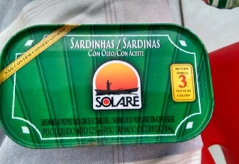Sardinhas Com Óleo Solare