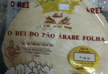 Pão Folha O Rei do Pão Arabe