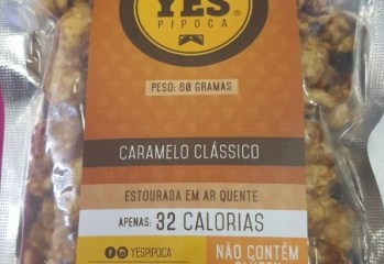 Pipoca Caramelo Classico Yes
