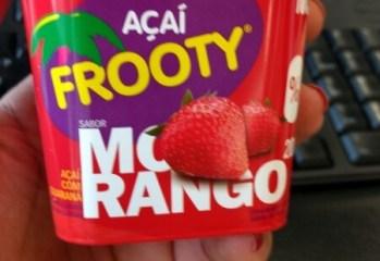 Açaí com Guaraná sabor Morango Açaí Frooty
