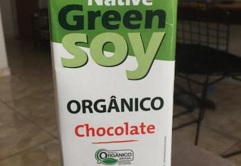 Bebida de Soja sabor Chocolate Orgânica Green Soy Native