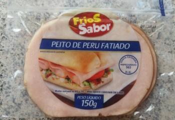 Peito de Peru Fatiado Frios Sabor