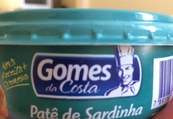 Patê de Sardinha Gomes da Costa