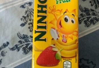 Bebida Láctea Morango e Banana Ninho Fruti Nestlé