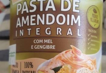 Pasta de Amendoim Integral com Mel e Gengibre Supply Life