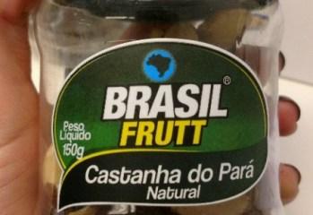 Castanha do Pará Natural Brasil Frutt