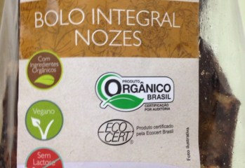 Bolo Integral Nozes Organico Emporium Vida