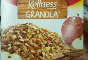 Granola Kellness Maçã com Canela Kellogg's