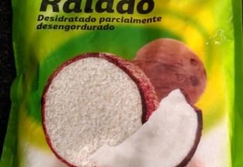 Coco Ralado Desidratado Parcialmente Desengordurado Dia