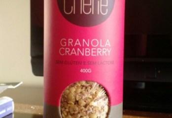 Granola Cranberry Bolô Chérie