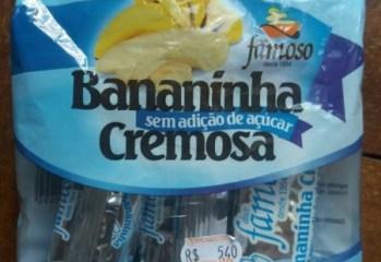 Bananinha Cremosa Doce Famoso