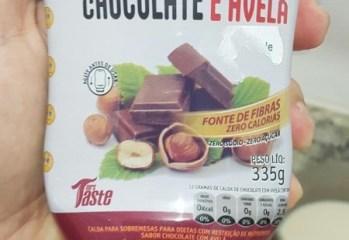 Calda para Sobremesa Chocolate e Avela Mrs Taste