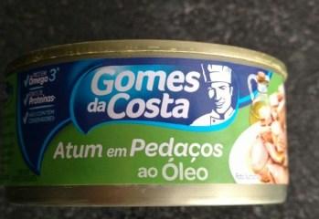 Atum em Pedacos ao Oleo Gomes da Costa