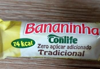 Bananinha Tradicional Zero Açúcar Conlife