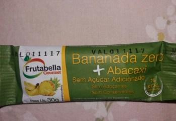 Bananada Zero Abacaxi Frutabella