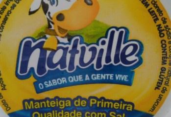 Manteiga de Primeira Qualidade Com Sal Natville